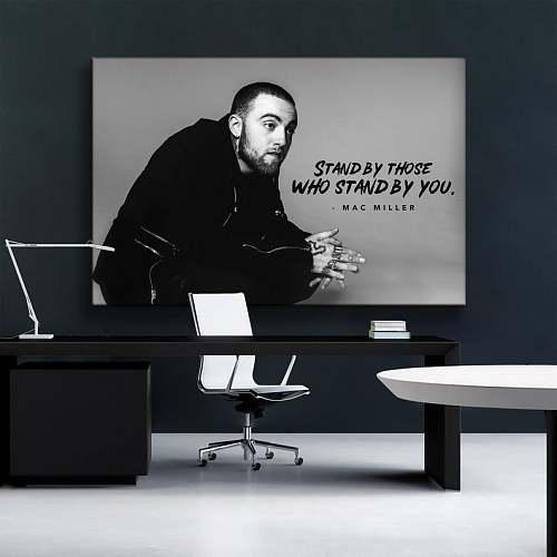 Mac Miller Rap Legends High Quality Canvas Painting Art