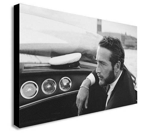 Paul Newman Canvas Painting Art