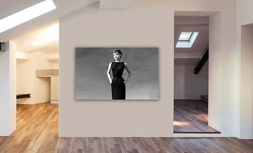 Audrey Hepburn Canvas Painting Art