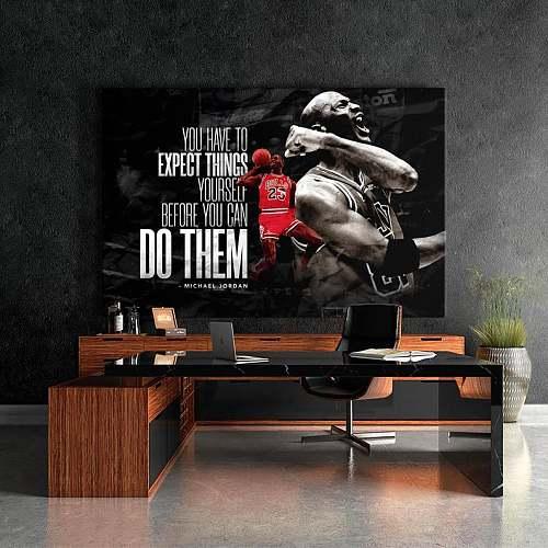 Michael Jordan Famous Basketball Legends High Quality Canvas Painting Art