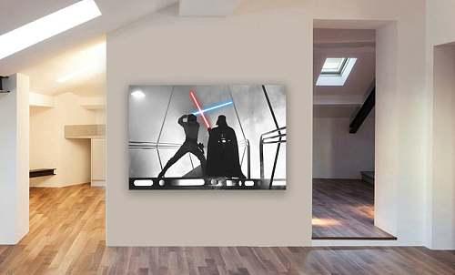Star Wars Canvas Painting Art