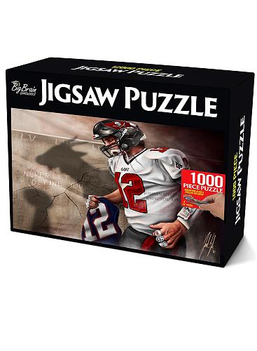 Tom Brady inspiration Puzzle Jigsaw