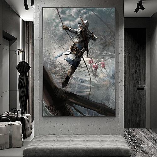 Assassin's creed | Leap of Faith Print Canvas Art
