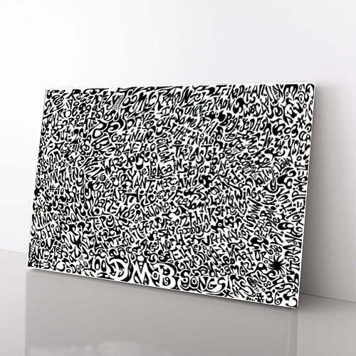 100 Dave Matthews Songs Canvas Art