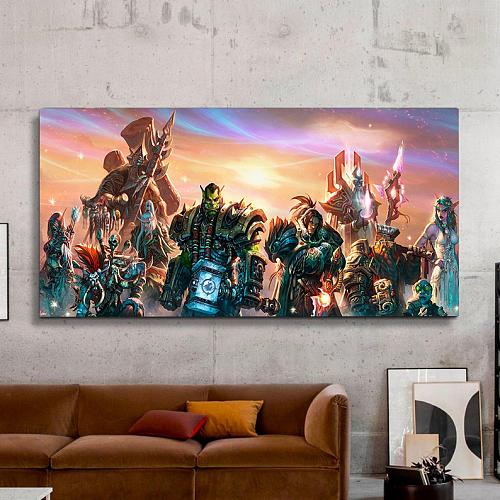 world of warcraft Print Canvas Art