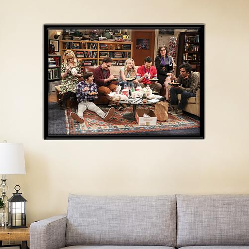 The Big Bang Theory Print Canvas Art