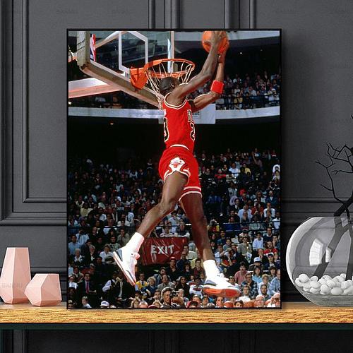 Michael Jordan Legends Canvas Painting Art
