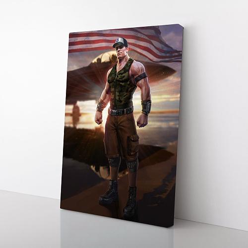 John Cena Canvas Art