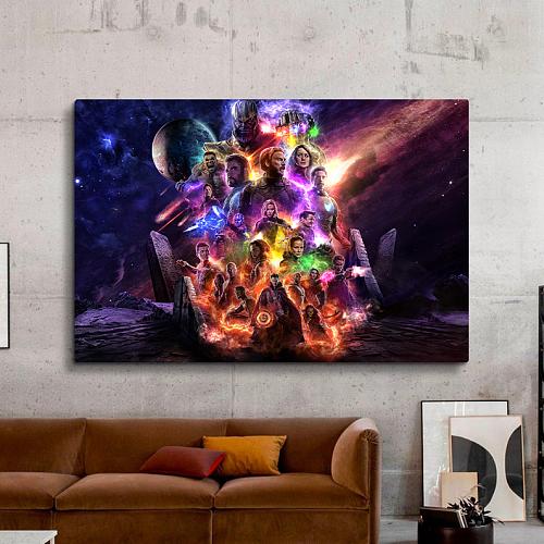 Avengers : EndGame Panorama Print Canvas Art