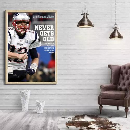 NFL Tom Brady Legends Canvas Painting Art