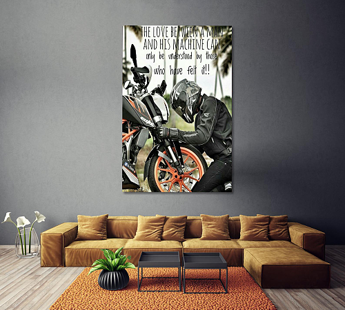 KTM Canvas Wall Art