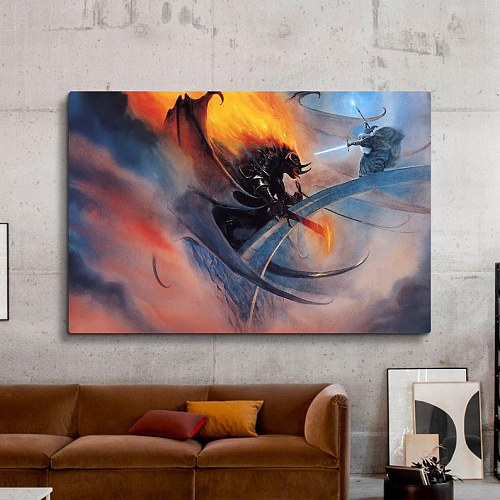 The Lord of the Rings Print Canvas Art
