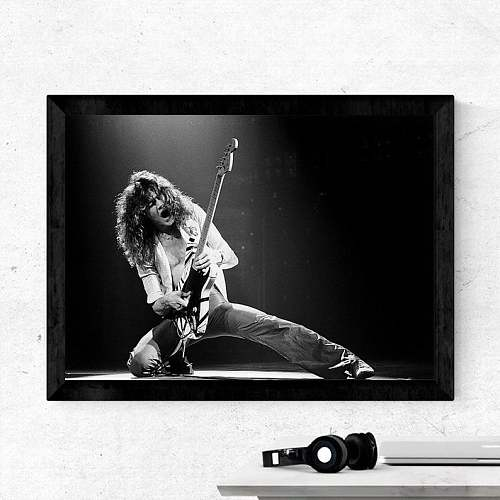 Eddie Van Halen Songs Canvas Art