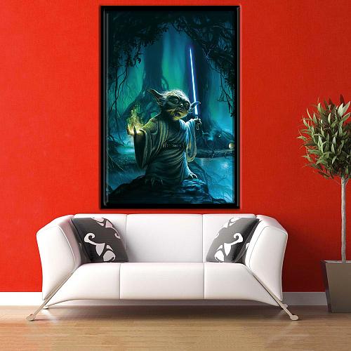 Star Wars | Yoda Print Canvas Art