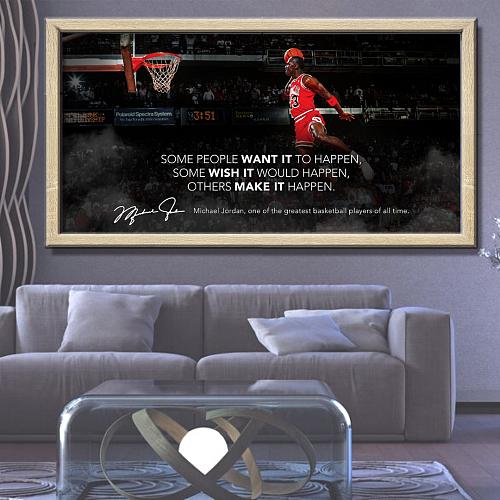 Michael Jordan Canvas Painting Art