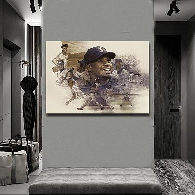 Ken Griffey Jr. Canvas Wall Art