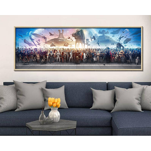 Star Wars Panorama Print Canvas Art