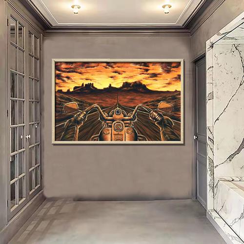 Harley Davidson Canvas Wall Art