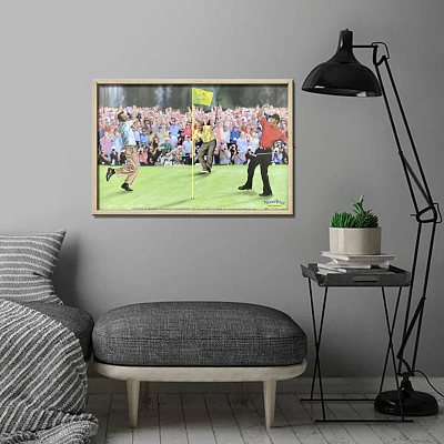 Golf Greats Tiger Woods Jack Nicklaus Arnold Palmer Masters  Canvas Painting Art