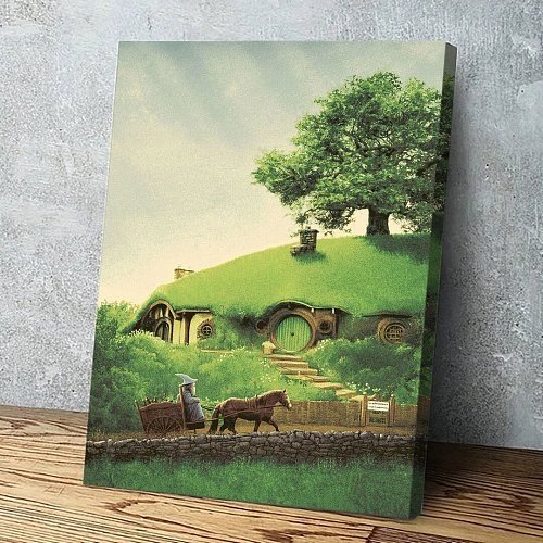The Hobbit House Canvas Wall Art