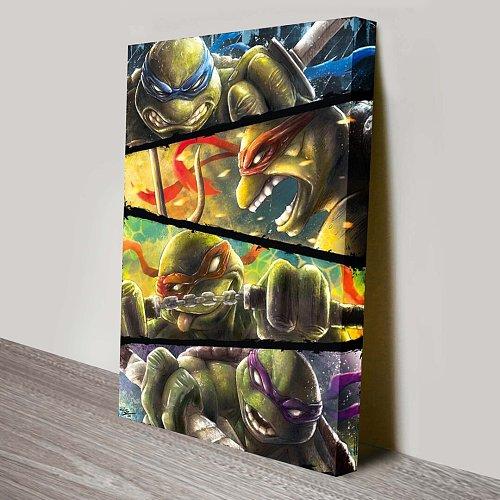 Teenage Mutant Ninja Turtles Forza Turtles Canvas Wall Art