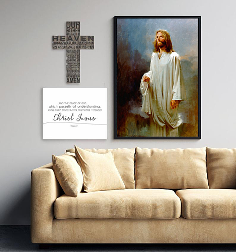 Jesus Chris Canvas Painting Art