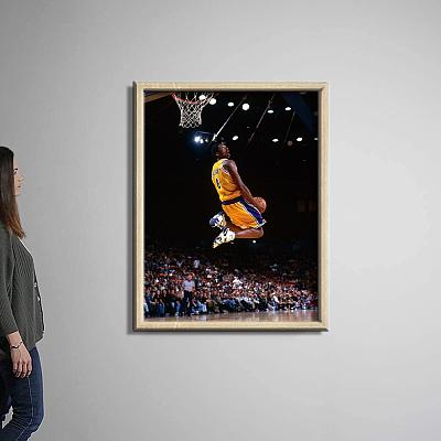 Kobe Bryant reserve dunk Canvas Painting Art