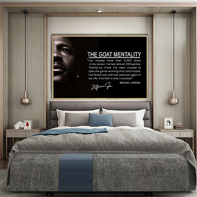 Michael Jordan Canvas Wall Art