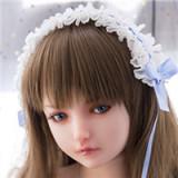 XYcolo Doll Pro 美娜Mina Aカップ 153cm フルシ リコン製ラブドール 全身スーパーリアルメイク付き