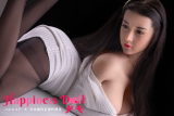 JY Doll 小倩 170cm 髪の毛植毛あり バスト大  シリコン製頭部+TPEボディ