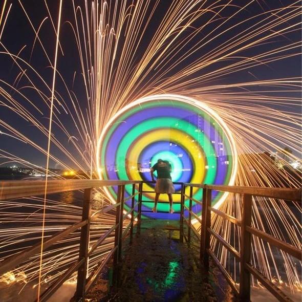 New generation Rainbow steel wool