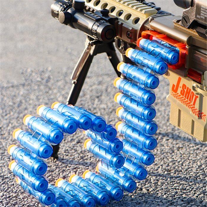 Soft Bullet Nerf Gun Electric Shooting Darts Two Modes Boy Toys Funny Kids Game Children Birthday Gift