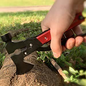 LOKMAN 14 in 1 Stainless Steel Handy Camping Survival Tool