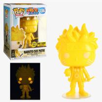 Funko Pop Naruto Six Path #186 Glow in the Dark Hot Topic Vinyl Figure