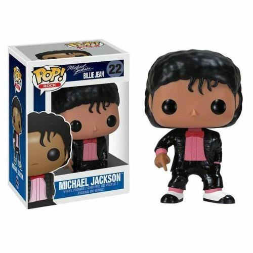 Funko Pop Michael Jackson #22 Billie Jean Musicians  Vinyl Figure