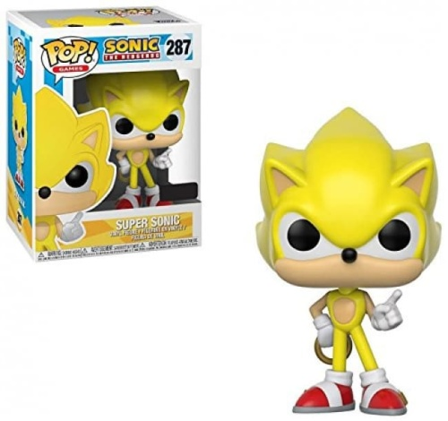 Funko Pop Games: Super Sonic 287 Collectible Figure