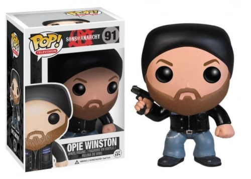 Funko Pop Sons of Anarchy Opie Winston Action Figure #91
