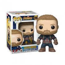 Funko Pop Marvel Infinity War Captain America #288 Vinyl Figure
