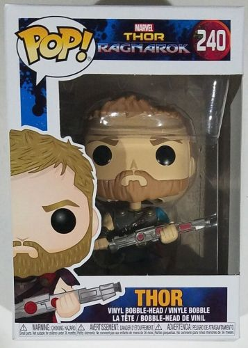 Funko Pop Marvel Ragnarok Thor #240 Vinyl Figure
