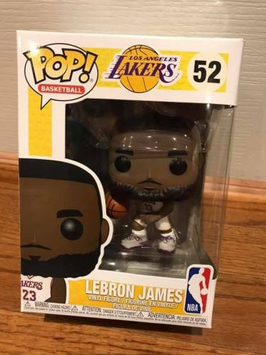 Funko Pop NBA Los Angeles Lakers Lebron James #52 Vinyl Figure NIB