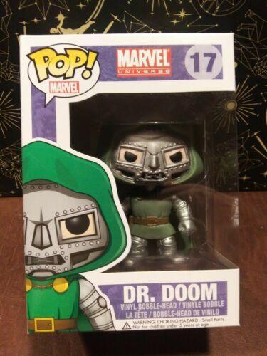 Funko Pop Marvel Universe Dr. Doom #17 Vinyl Figure