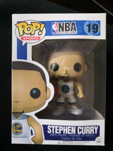 Funko Pop NBA Stephen Curry White Jersey #19 Vinyl Figure
