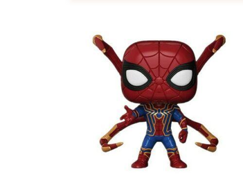 Funko Pop Marvel Avengers Iron Spider Man 3 Infinity War Action Figure Doll #300