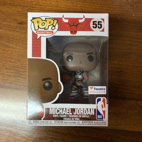 Funko Pop NBA Chicago Bulls Michael Jordan Fanatics #55 Exclusive