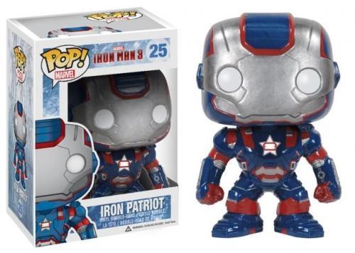 Funko Pop Marvel Iron-Patriot #25 Vinyl Figure