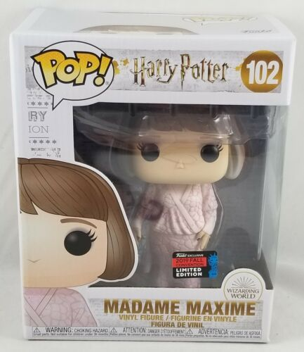Funko Harry Potter Pop! Madame Maxime #102 (Yule Ball) 6 Inch 2019 Fall NYCC