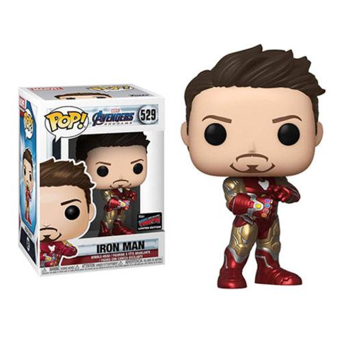 Funko Pop Iron Man #529 Marvel Avengers Endgame Tony Stark Gauntlet Exclusive