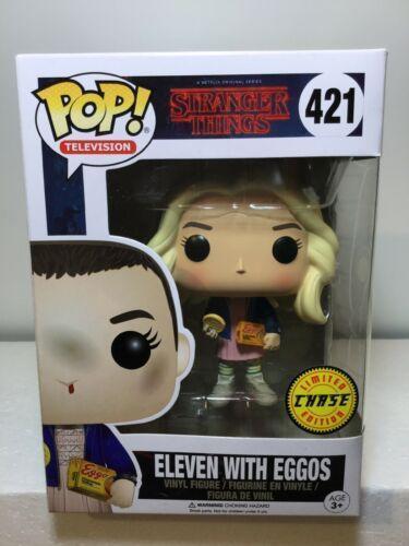 Funko Pop Eleven With Eggos #421 Stranger Things Vinyl Figure