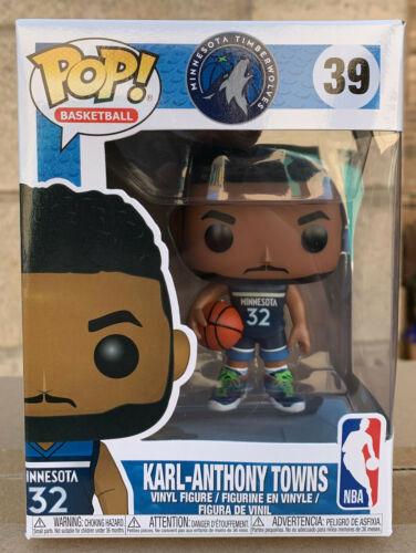 NBA (Basketball) Minnesota Timberwolves Karl-Anthony Towns Pop! Vinyl Figure NEW