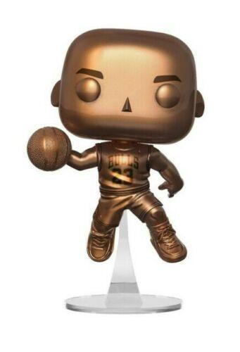 Funko Pop Michael (Bronze) Jordan Foot Locker Exclusive 54